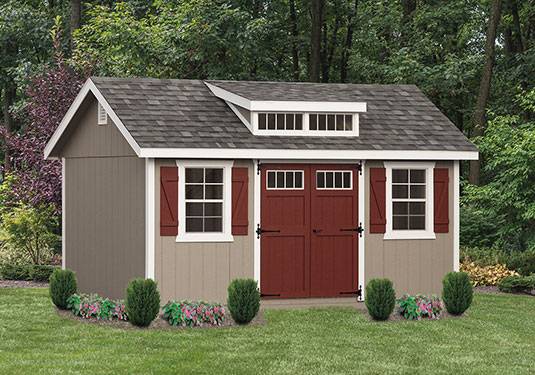 10x16 Classic Outdoor Shed