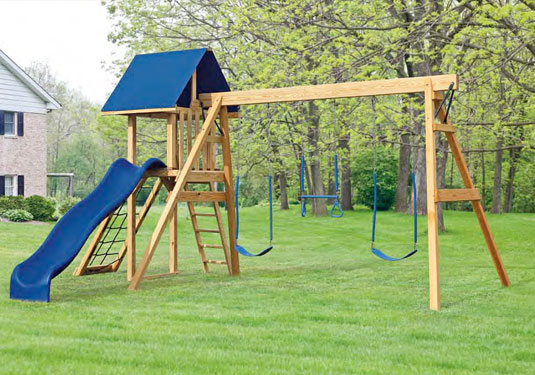 A frame Wooden Playground