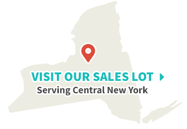 map of our sales lot in central new york