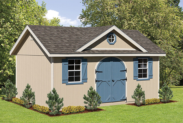 10'x16' Classic with Dormer